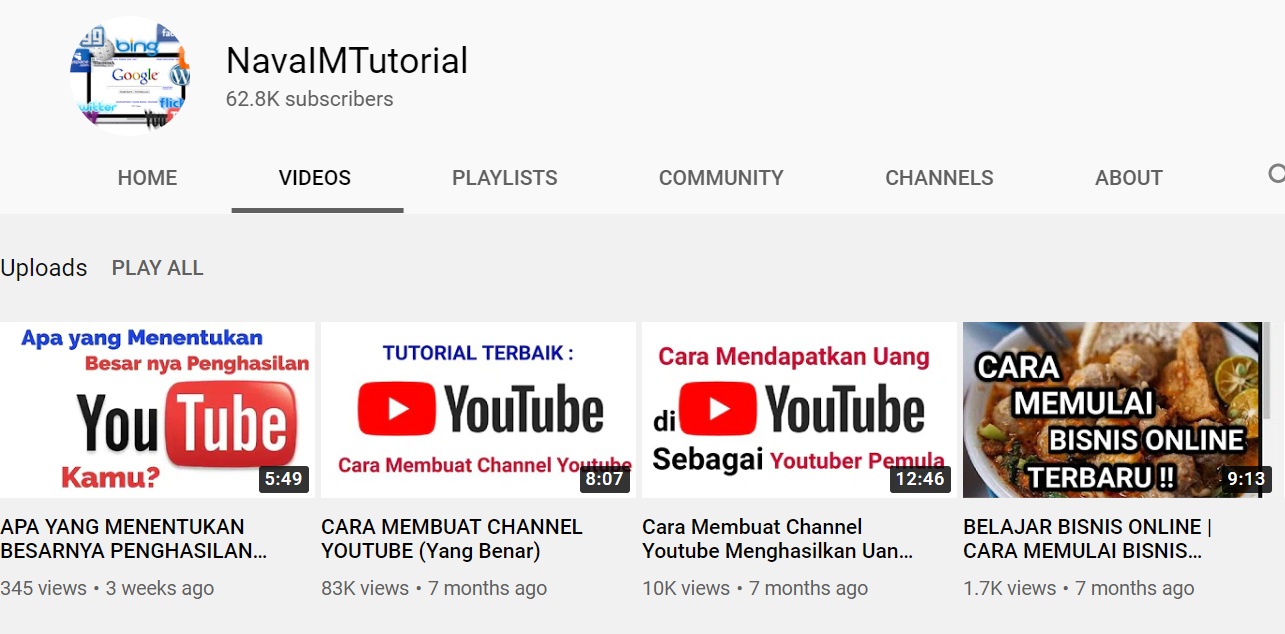 channel youtube navaimtutorial